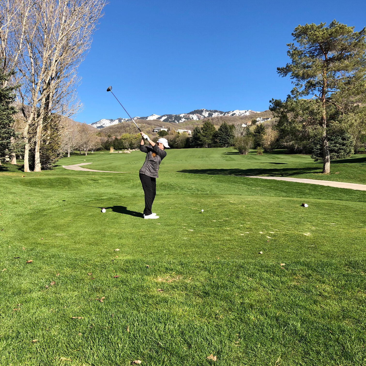 Played this beautiful course in Bountiful, UT Spring 2018